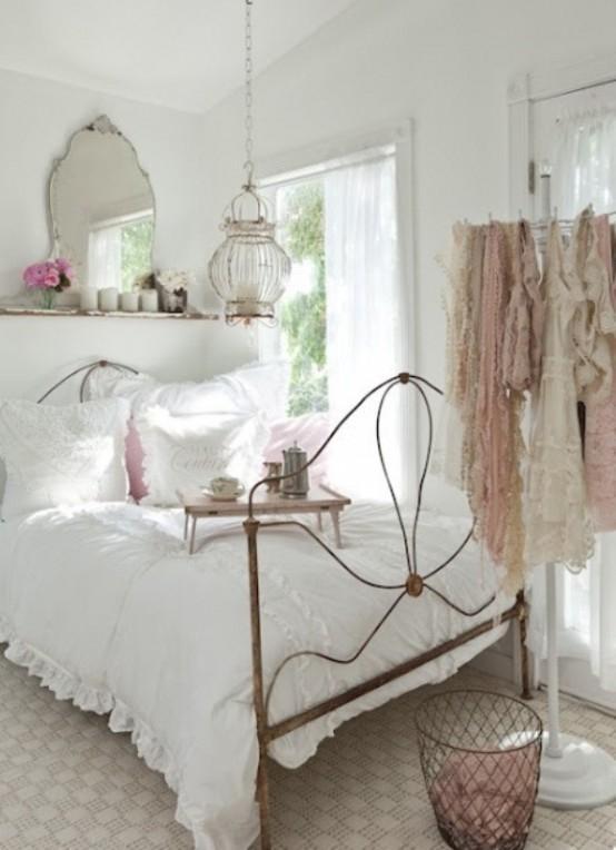 Vintage bedroom bedframe - French design