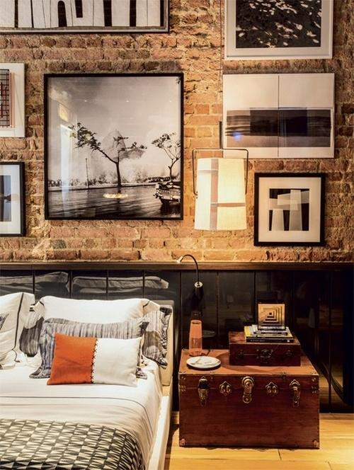 Vintage bedroom - with contemporary accents