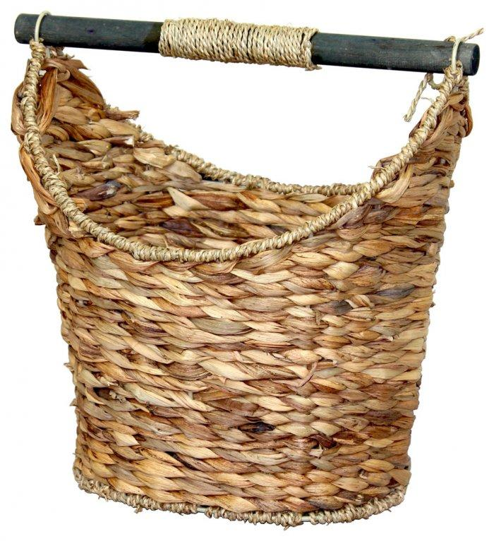 Wicker toilet basket - for storing stuff