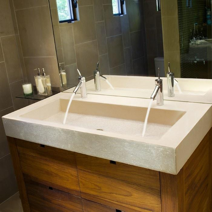 Wooden bathroom basin cabinets - and chest of drawers