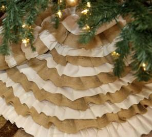 Christmas Tree Skirts – 20 Elegant Ideas
