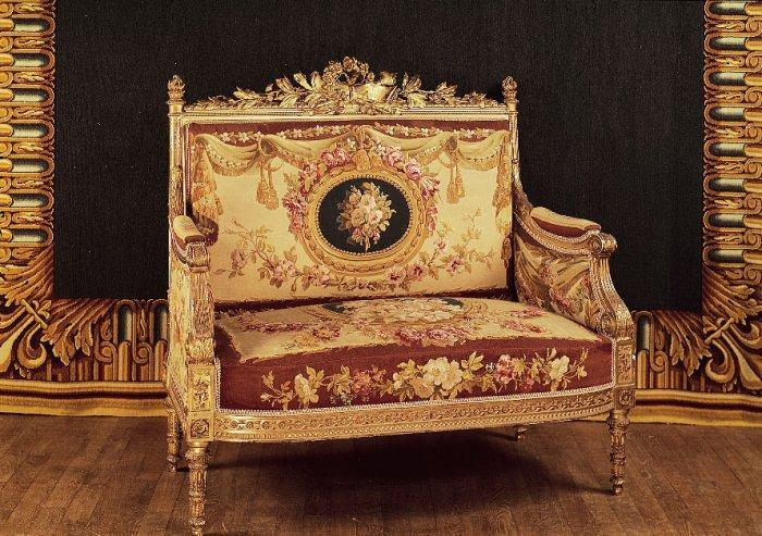 French empire couch - for one person