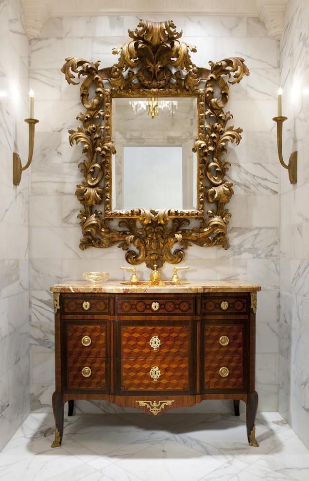 Interior design styles origin and evolution founterior - Powder room vanity ideas ...