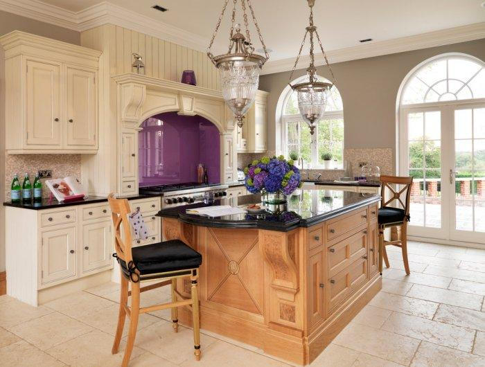Luxurious kitchen - in a country house