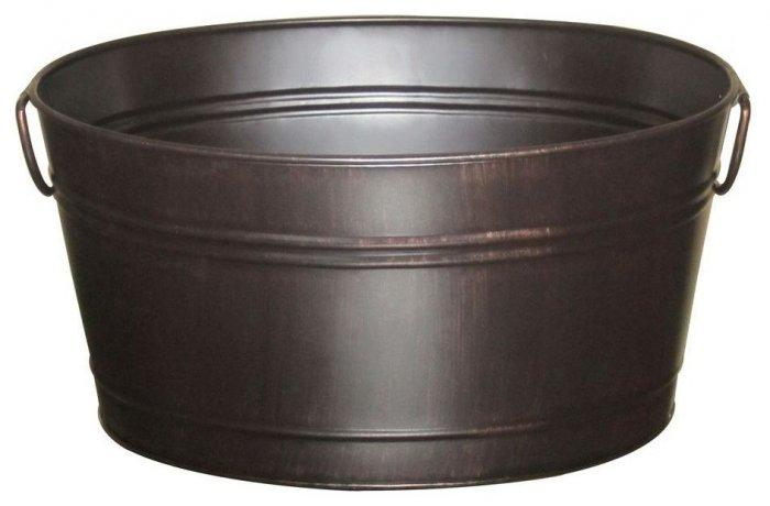 Oval Beverage Bin, Oil Rubbed Bronze