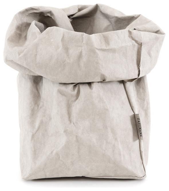 Paper Bag, Grande, Gray