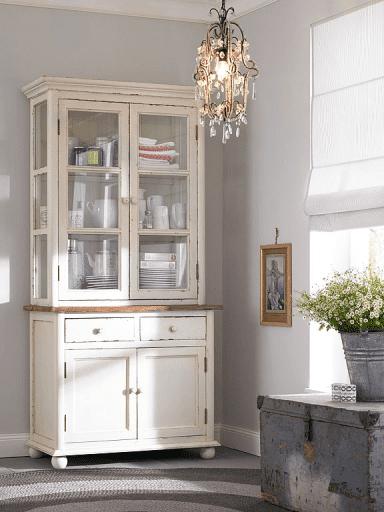 Vintage cupboard - for storing kitchenware