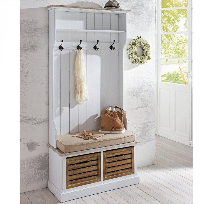 Vintage entryway bench - and coat hanger