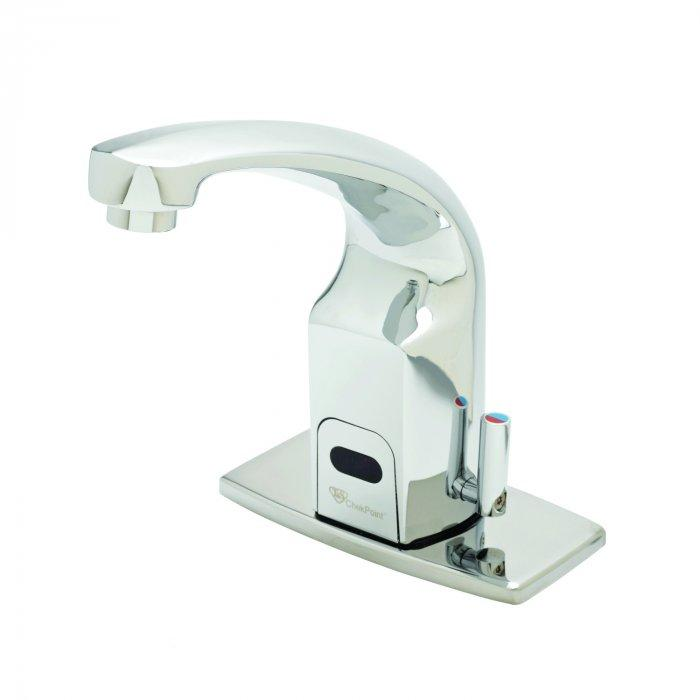 Automatic faucet - with temperature tap