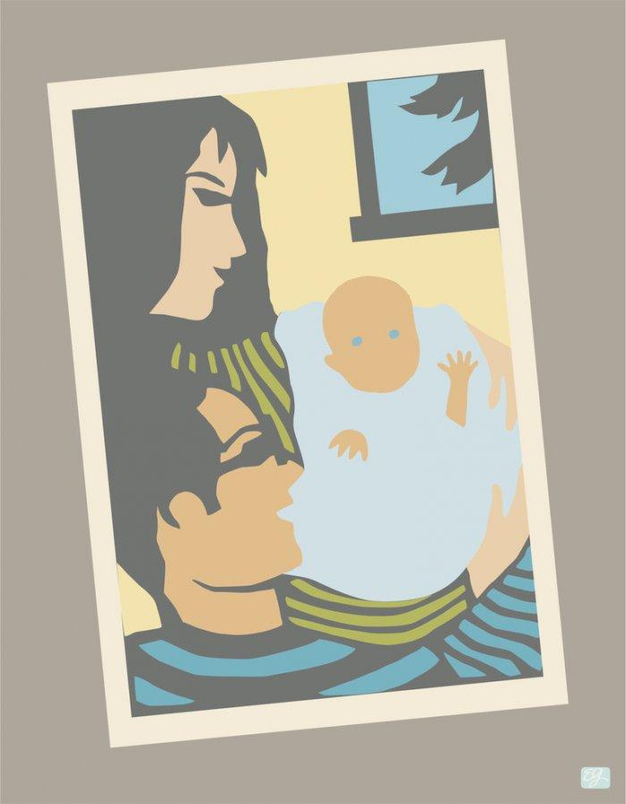 Baby shower poster - for wall use