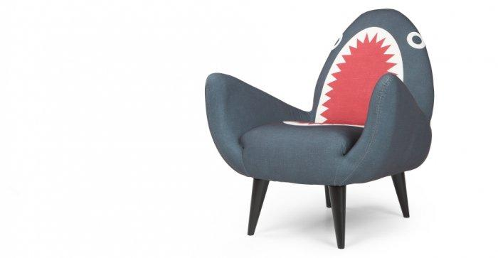 Funny designer chair - in shark shape