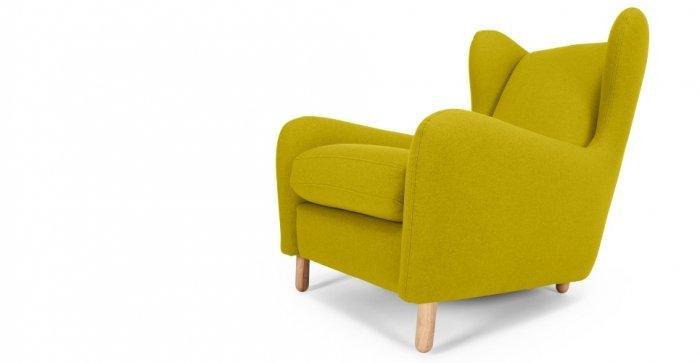 Green designer chair - with contemporary design