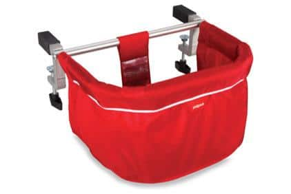 Phil & Teds ME TOO Portable Highchair - Red - for baby shower