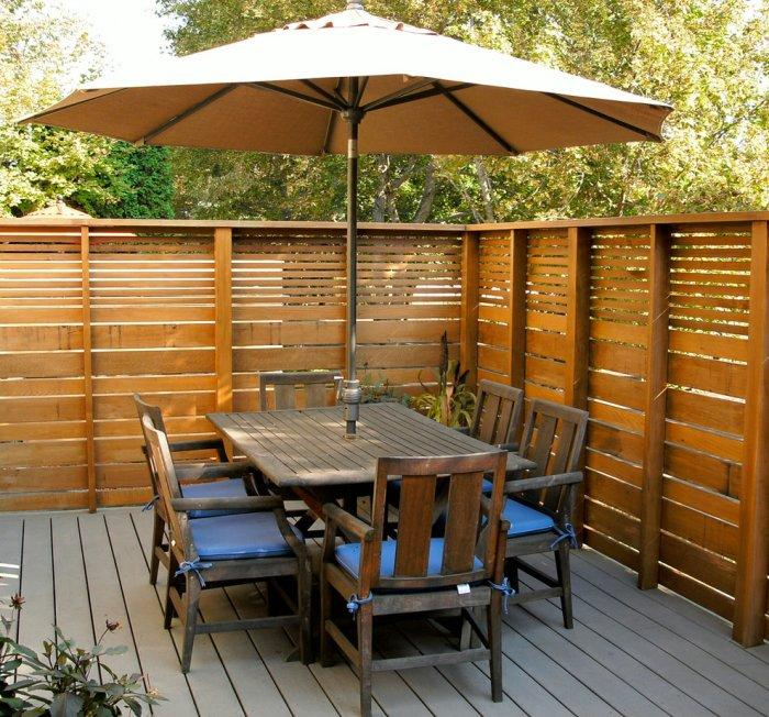Professional pallet fence - and garden furniture