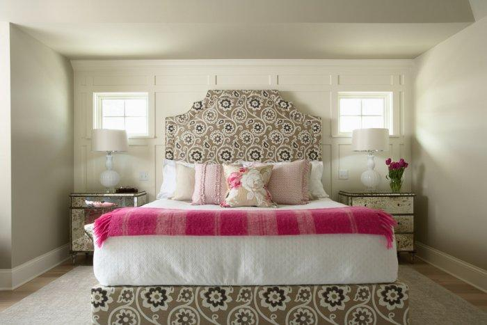Valentine's day bedroom - with pink sheets