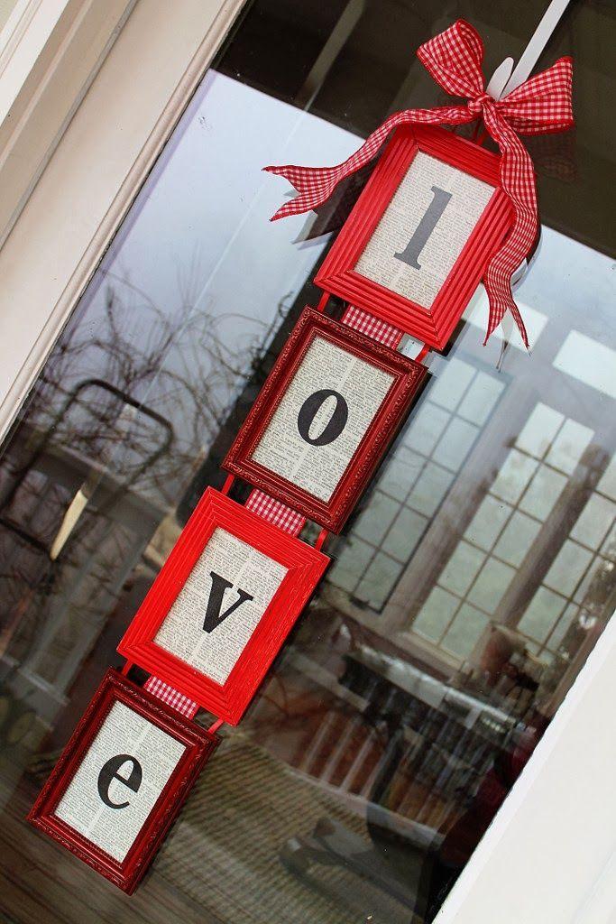 Valentine's day door sign - Love