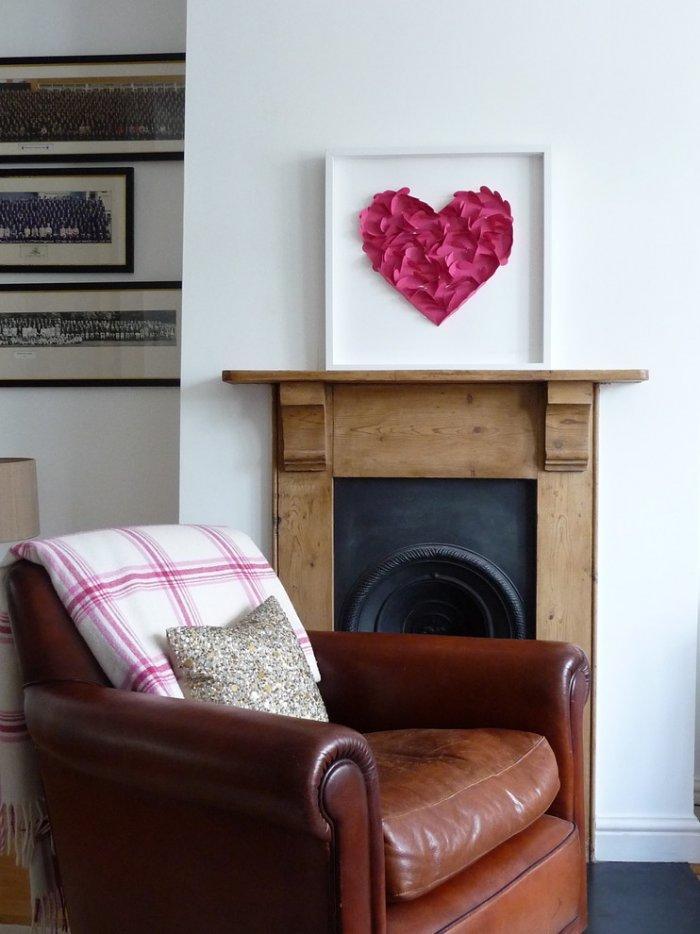 Valentine's day heart - in frame