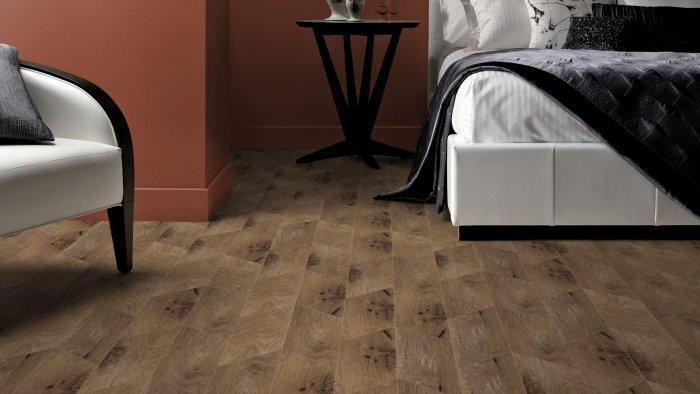 Classic designer floor tile pattern - for wooden panels