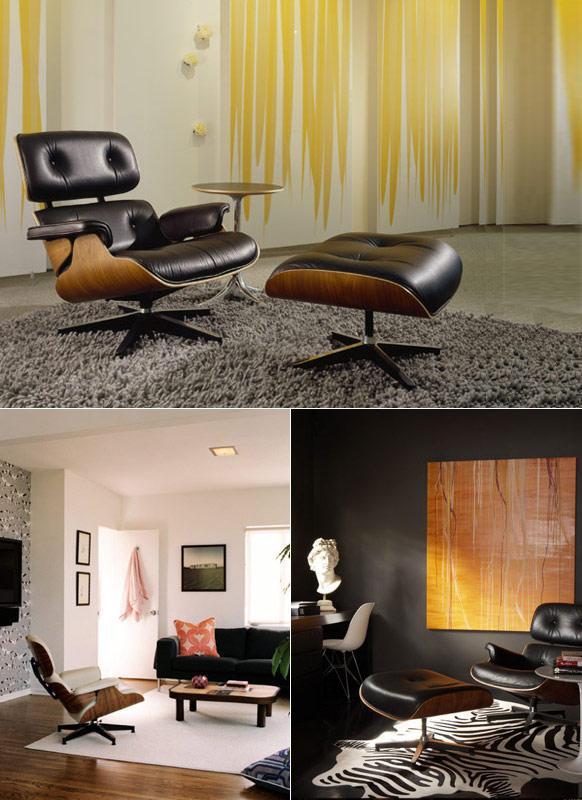 Eames Lounge Chair Usage