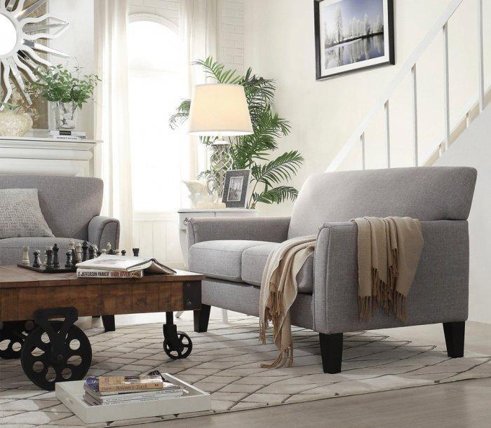 Elegant loveseat sofa - with simple and stylish design