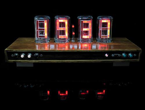 Hand Made LED Clock