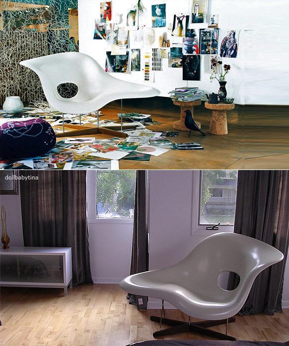 La chaise arm chair usage