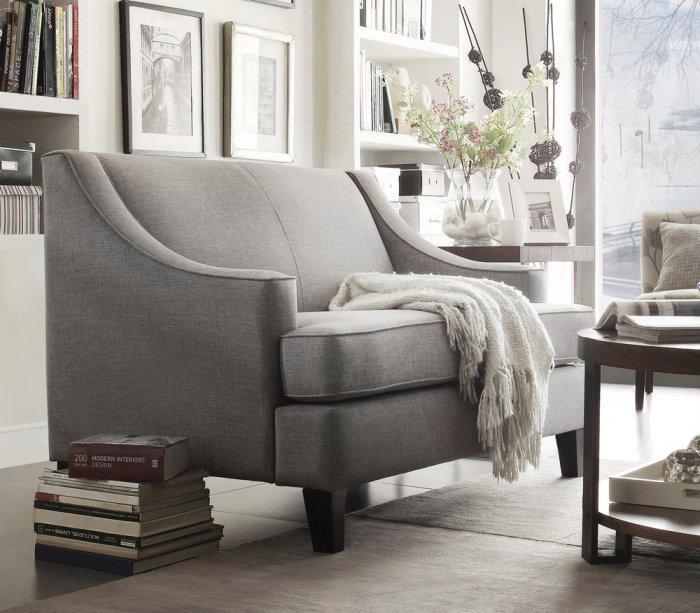 Scandinavian loveseat sofa - for elegant living room