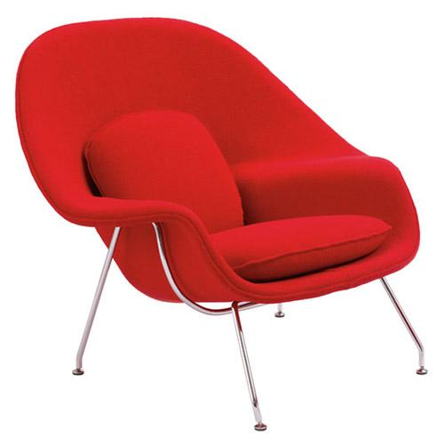 Womb chair and ottoman1