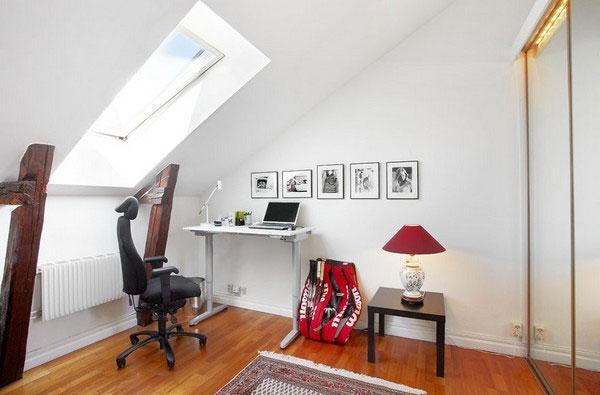 attic room 12
