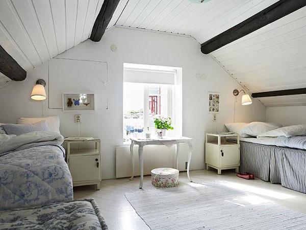 attic room 20