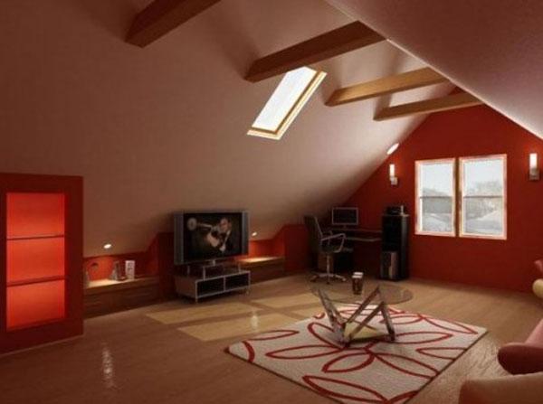 attic room 29