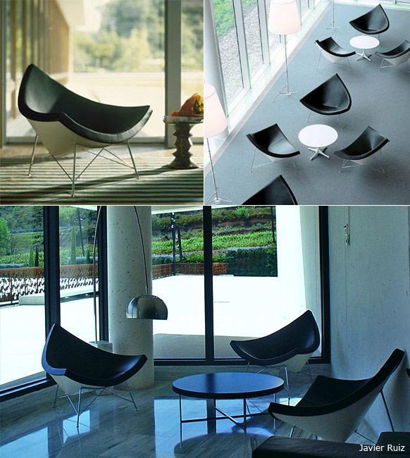 coconut chair usage