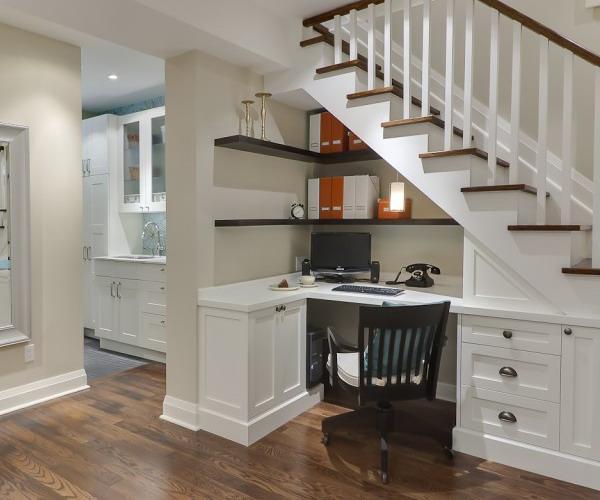 home office under stairs storage3