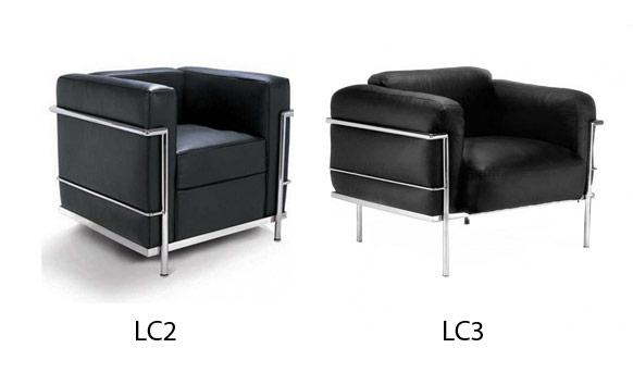 lc2 lc3 chairs