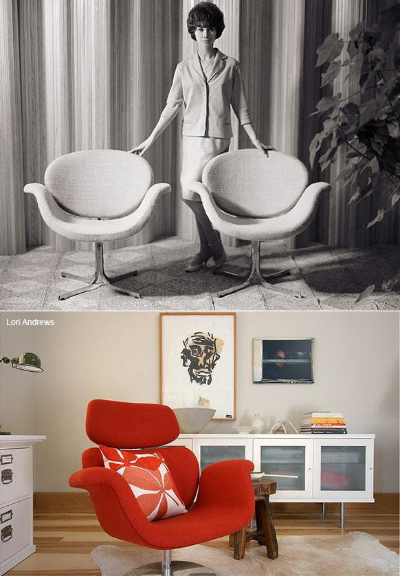 little tulip chair usage