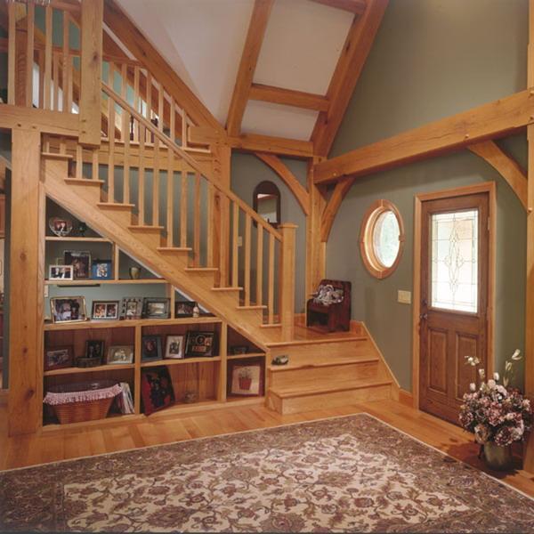 storage ideas under stairs in livingroom4