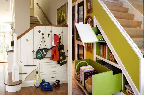 t drawers built under stair storage 2
