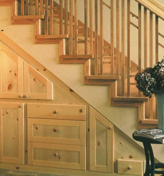 t drawers built under stair storage 4