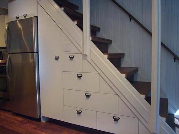 t drawers built under stair storage 5