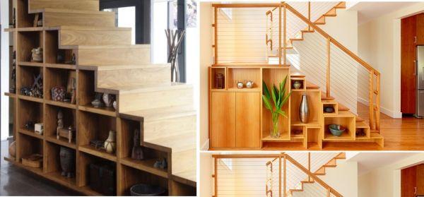 t open storage staircase 10