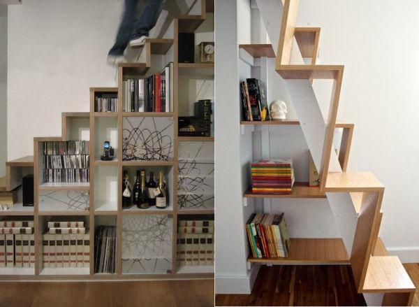 t open storage staircase 12