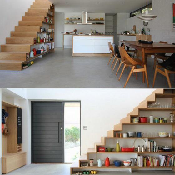 t open storage staircase 13
