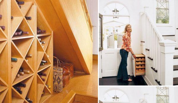 t wine storage under stairs 9