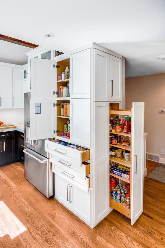 transitional kitchen 10