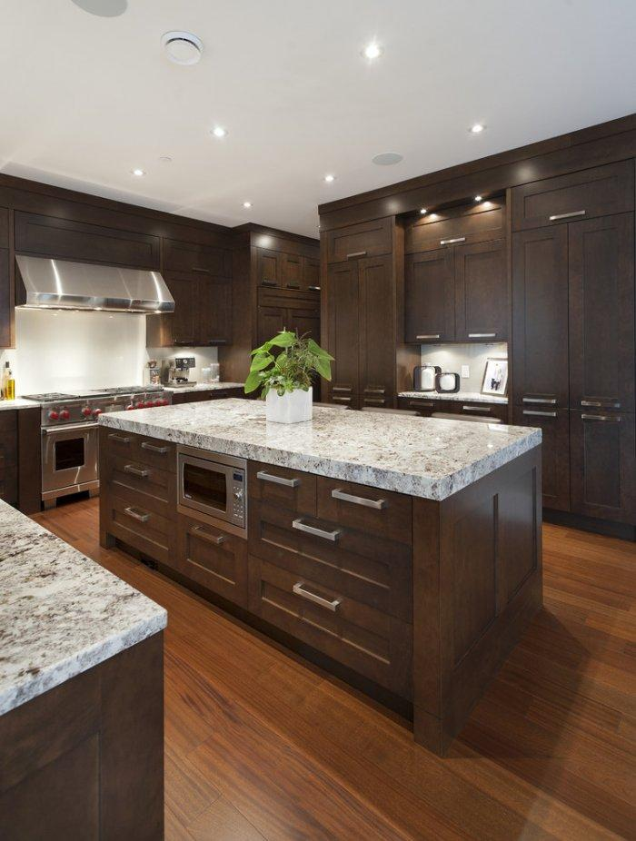 transitional kitchen 9