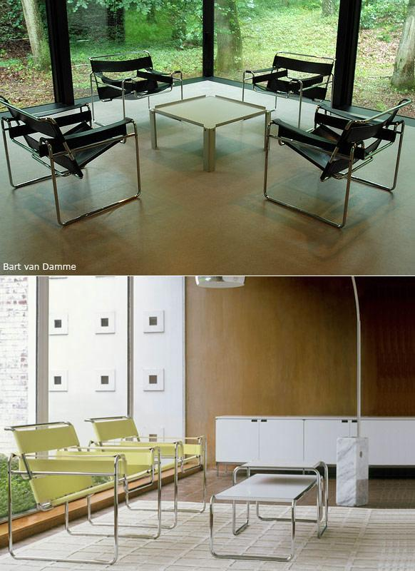 wassily chair usage
