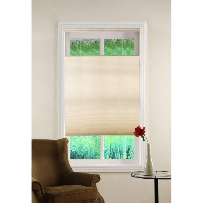 Beige bedroom blind - for a traditional interior