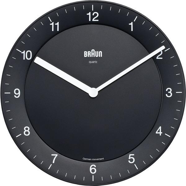 Braun wall clock - black