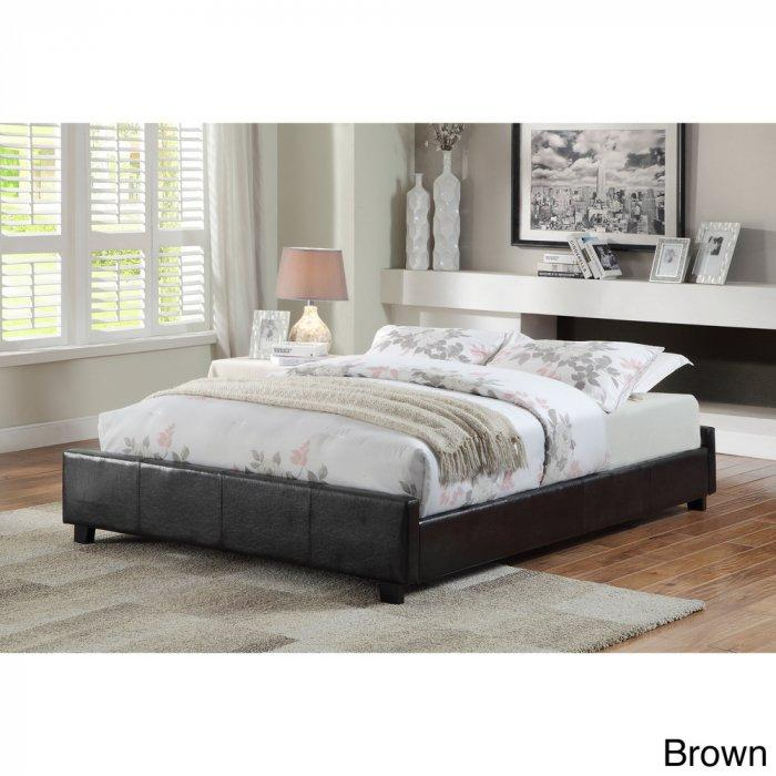 Contemporary platform bed - without headboard