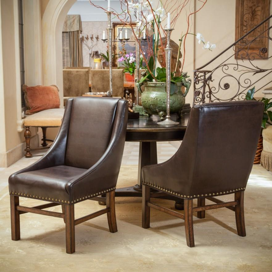 Dining chairs classic and modern examples founterior for Modern sitting chairs